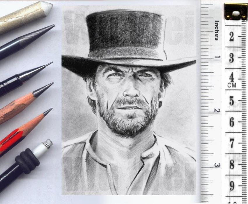 Clint Eastwood by wu-wei